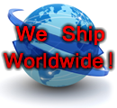 We ship worldwide (there are some exceptions, please contact us for details!)